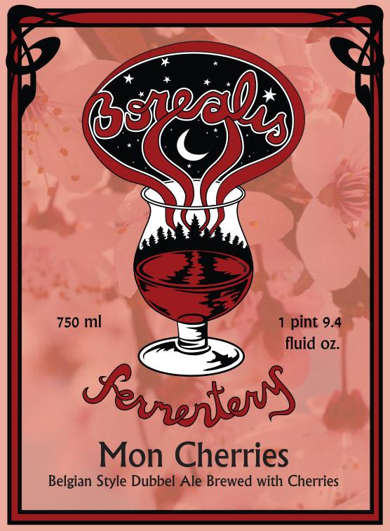 Mon Cherries Dubbel Ale