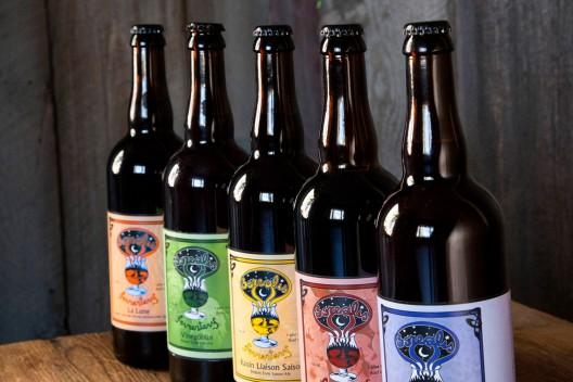 Borealis Fermentery Beers